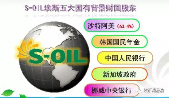 S-OIL(埃斯润滑油)沙特阿美